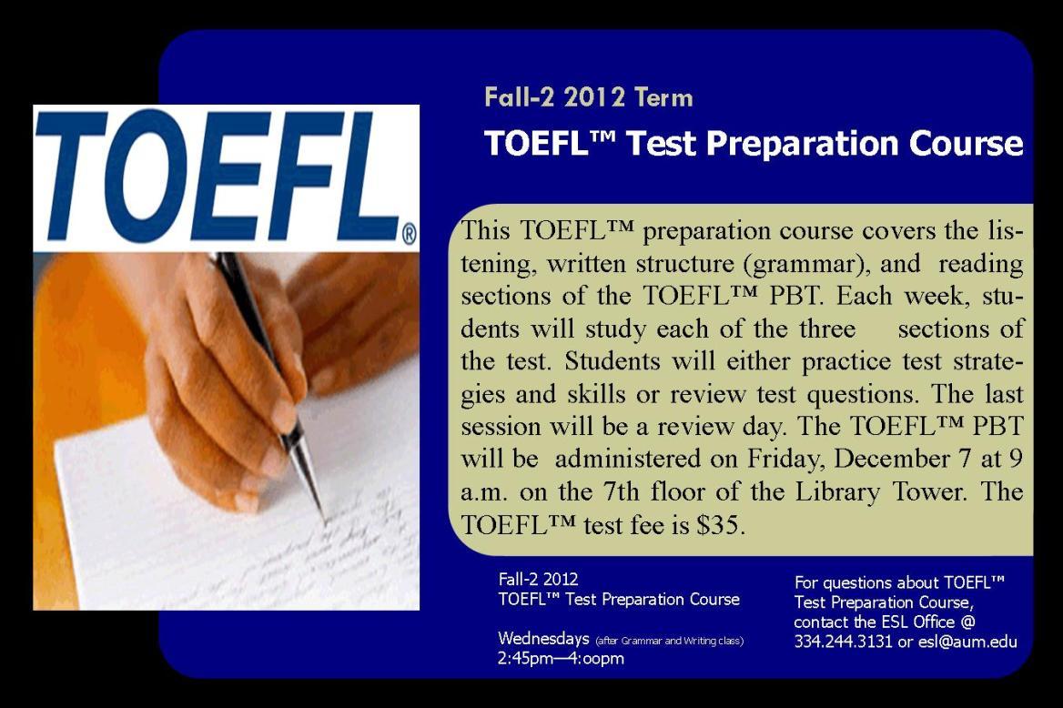 toefl writing structure