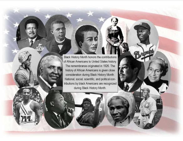 Did you know that February was Black History Month?